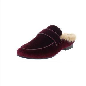 Steve Madden Kaden Faux Fur Loafer Mule
